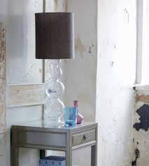 brown tall lamp shade