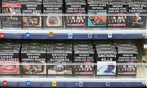 Cigarette Strength Chart Uk The Colour That Could Stop You Smoking Government Chooses