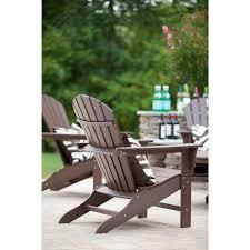 Trex Cape Cod Recycled Plastic Adirondack Chair Rocking Furniture