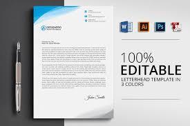 Professional Letterhead Templates Impressive Professional Letterhead Design