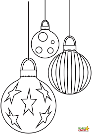 Small Picture Coloring Pages Baubles Free Christmas Coloring Pages From