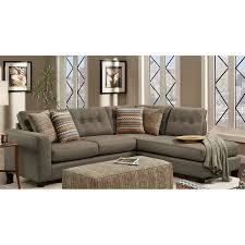 Living Room Furniture Phoenix Shop Chelsea Home Phoenix Fandango Mocha Polyester Sectional At