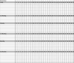 Blank Monthly Chore Chart Pin On Plan It