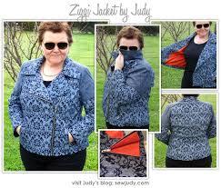 ziggi jacket sewing pattern by judy and style arc