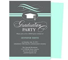 Diy Graduation Invitations Party Invites Cover Letter Downsizeca Org