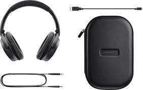 bose wireless headphones noise cancelling. bose quietcomfort 35 wireless headphones black qc35 wireless hdph black - best buy noise cancelling r