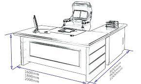 office table dimensions standard desk size australia