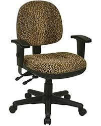 leopard print office chair. delighful print office star animal print multi controlled sculpted chair with arms inside leopard better homes and gardens