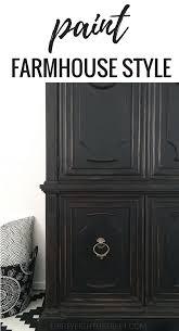 rustic furniture look for