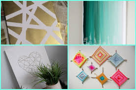 cool diy dorm decor with wall art and curtain design also decorative accessories ideas