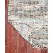 woven leather rug natural area rugs hand woven brilliance jute leather rug 9 x free woven leather rug vintage leather collection