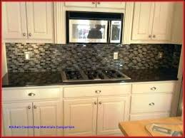 Kitchen Countertop Material Comparison Chart Best Countertop Materials Awesomeinterior Co