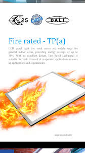 Fire Rated Led Panel Light