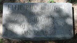 Effie Harper Rouse Joyner (1866-1930) - Find A Grave Memorial