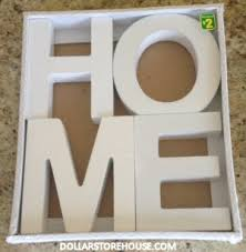 Dollarama Deals  Home U0026 Love Decor Letters DollarStoreHousecom Dollarama Home Decor
