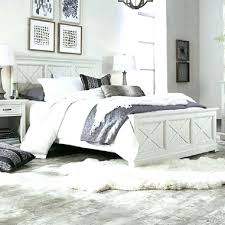 White Distressed Bed Distressed White Bed Frame Rustic White Bed ...