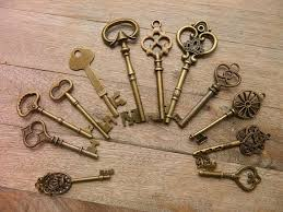 Skeleton Key Chart 12 Large Skeleton Keys Lot Wedding Keys Steampunk Antique