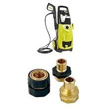 amazon sun joe spx3000 2030 psi 1 76 gpm electric pressure washer 14 5 and garden hose quick connect bundle garden outdoor