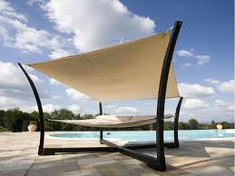 contemporary outdoor canopy bed