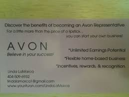 Interested In Avon Leadership Use A Recruiting Business Card