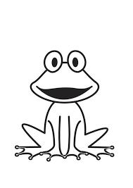 Kleurplaat Kikker Cricut Designs Kikkertekening Kikker Thema En