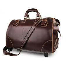 china oem branded high quality vintage leather doctor bag trolley bag china trolley bag doctor bag