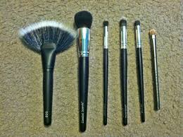 coastal scents brushes uses. i bought these brushes because they were unique and had nothing like them, except for the last one. from left to right: coastal scents uses u