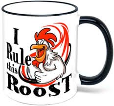 4.7 out of 5 stars 308. Amazon Com I Rule This Roost Rooster Coffee Mug Chicken Gift Coffee Cups Mugs