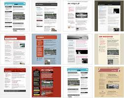 Free Newsletter Layouts 100 Free Html Email Newsletter Templates Patternhead