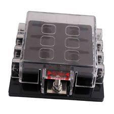atc fuse block dc32v 8 way circuit car boat automotive auto atc ato blade fuse box block