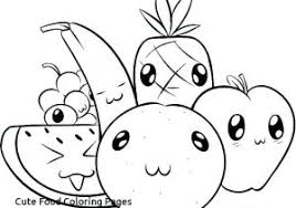 Cute Fish Coloring Pages Lovely Kawaii Food Coloring Pages Awesome