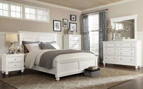 Glamorous 4 Piece Bedroom Set White Off Dreamer Wicker Ashley Wood ...