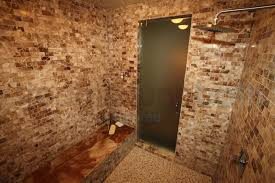 previous multiple textures steam shower ceramic tile brick effect