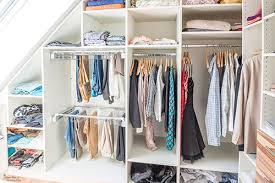 sloped ceiling closets solutions