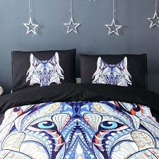 wolf bedding sets full wolf bed set twin symbol wolf bedding set print tribal wolves duvet
