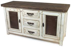 white washed furniture. Rustic Wood Whitewashed Sideboard With Tin And Iron White Washed Furniture