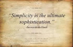 Da Vinci Quotes Best Leonardo Da Vinci's Week AL Inspiring Quote On Simplicity Alame