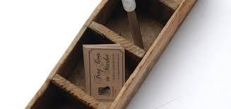 wood box small vintage divided rustic wood box via