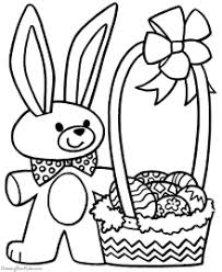 Small Picture Easter Basket Coloring Pages To Print Happy Easter 2017
