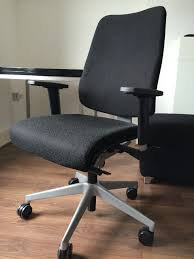 steelcase reply black office chair 5 wheels