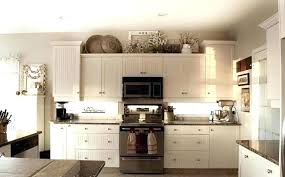 Decor Above Kitchen Cabinets Or Not