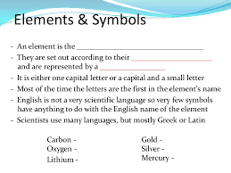 Elements & Symbols The Original Periodic Table The Modern Periodic ...