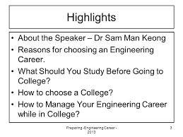 preparing engineering career preparing for a successful  3 preparing engineering