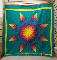 BEAUTIFUL GREAT CONDITION HOMEMADE NATIVE AMERICAN INDIAN STAR ... & BEAUTIFUL GREAT CONDITION HOMEMADE NATIVE AMERICAN INDIAN STAR QUILT  BLANKET – eBay Find of the week Adamdwight.com