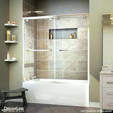 sterling shower doors installation instructions bathtub door installation encore bypass sliding tub door sterling bathtub door