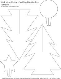 Free Christmas Tree Template Christmas Tree Templates In All Shapes And Sizes