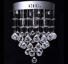 homcom crystal chandelier glass droplets light pendant 37Φ30mm and 128 octagons