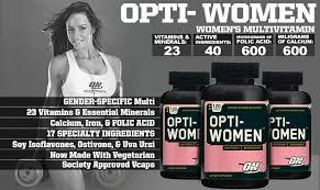 optimum nutrition opti women multi vitamin 60 caps 5