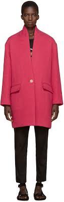 isabel marant etoile pink edilon coat women isabel marant boots crisi isabel marant barneys wide range