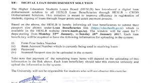 Heslb : Public Notice To All Loan Beneficiaries 2018